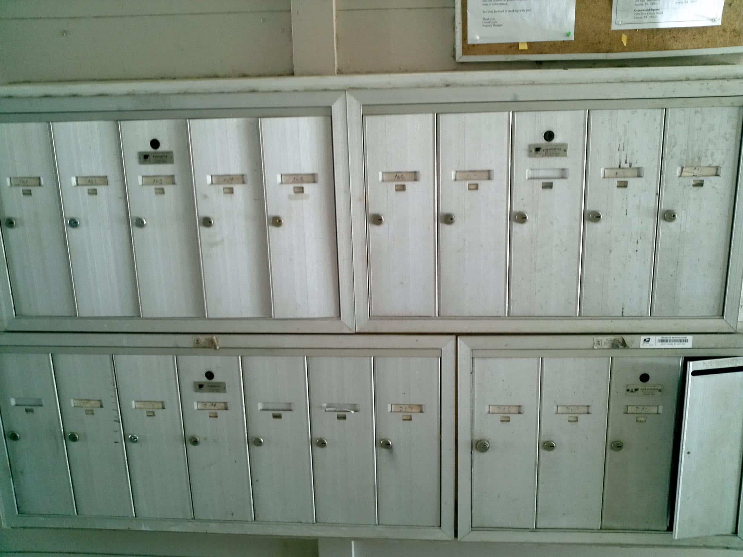 Duval Court Mailboxes
