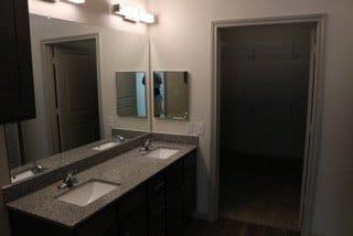 apartment dual-vanity sink